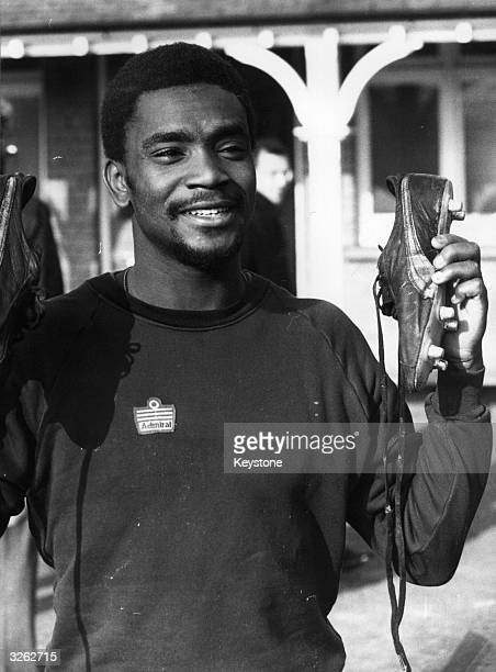 West Bromwich Albion footballer Laurie Cunningham