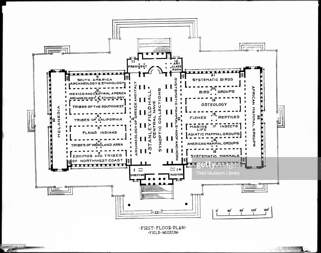 field museum floor plan pictures getty images 1st first floor plan map of exhibit halls showing titles and