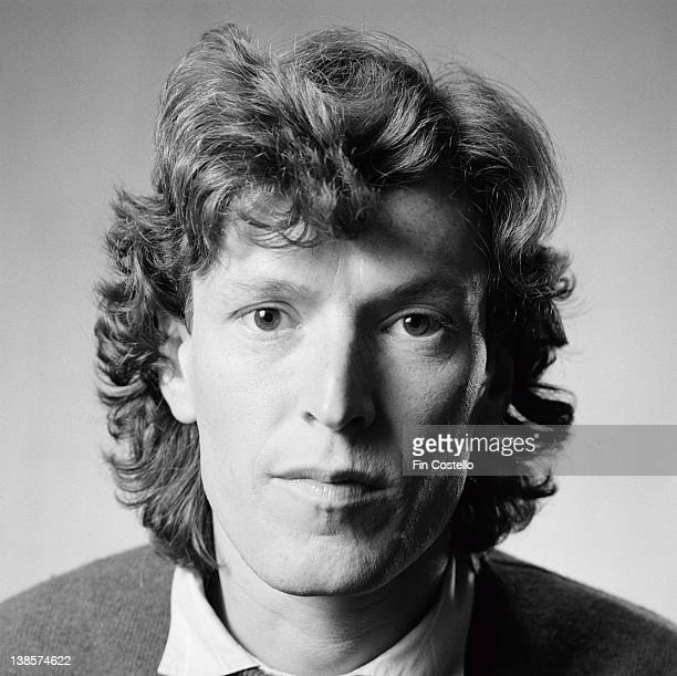 English musician Steve Winwood posed during a studio cover session for 'Arc Of A Diver' album in London in 1980