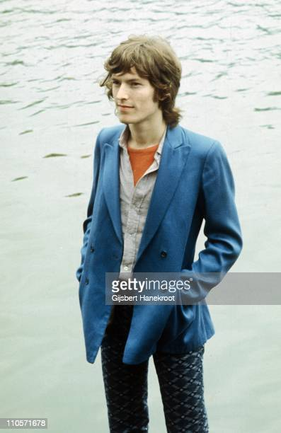 Steve Winwood from Traffic posed in Amsterdam Netherlands in 1971