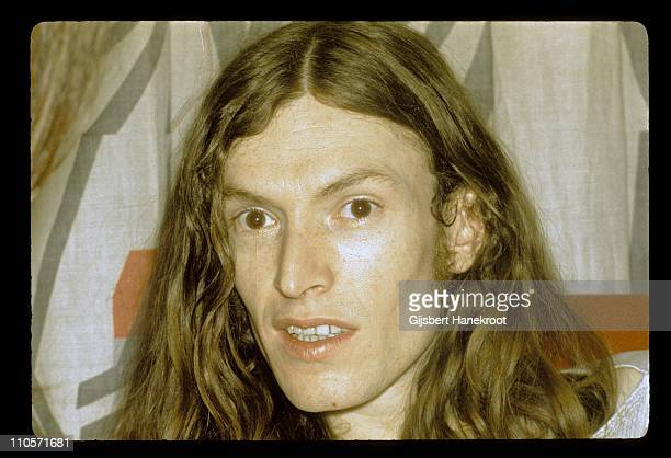 Steve Winwood from Traffic posed in Amsterdam Netherlands in 1972