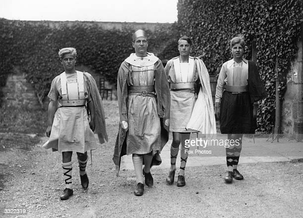 Prince Philip of Greece dressed for the Gordonstoun School's production of 'MacBeth' in Scotland Gordonstoun School near Elgin was founded in 1934 by...