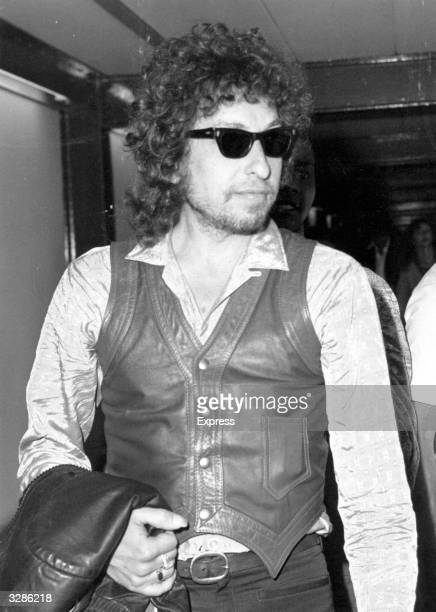 American folkrock singersongwriter Bob Dylan