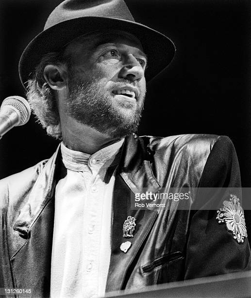 Maurice Gibb from The Bee Gees performs live on stage at Ahoy in Rotterdam Netherlands on 1st July 1991