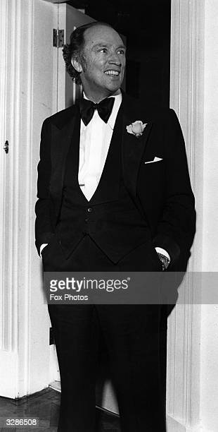 The Canadian Prime Minister Pierre Trudeau at the Canadian High Commissioners Office London