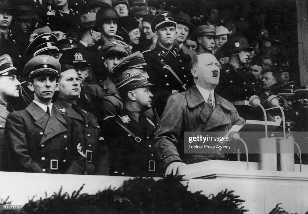 adolf hitler speech critique How we perceive language is the base of social interactions and it constructs  social relationships and barriers unlike traditional views of.