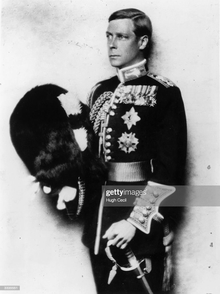 King Edward VIII just before his abdication wearing the uniform of the Welsh Guards He ruled for one year in 1936 until he abdicated to marry Mrs...
