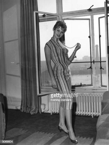 Brigitte Bardot French sexkitten and actress in her London hotel