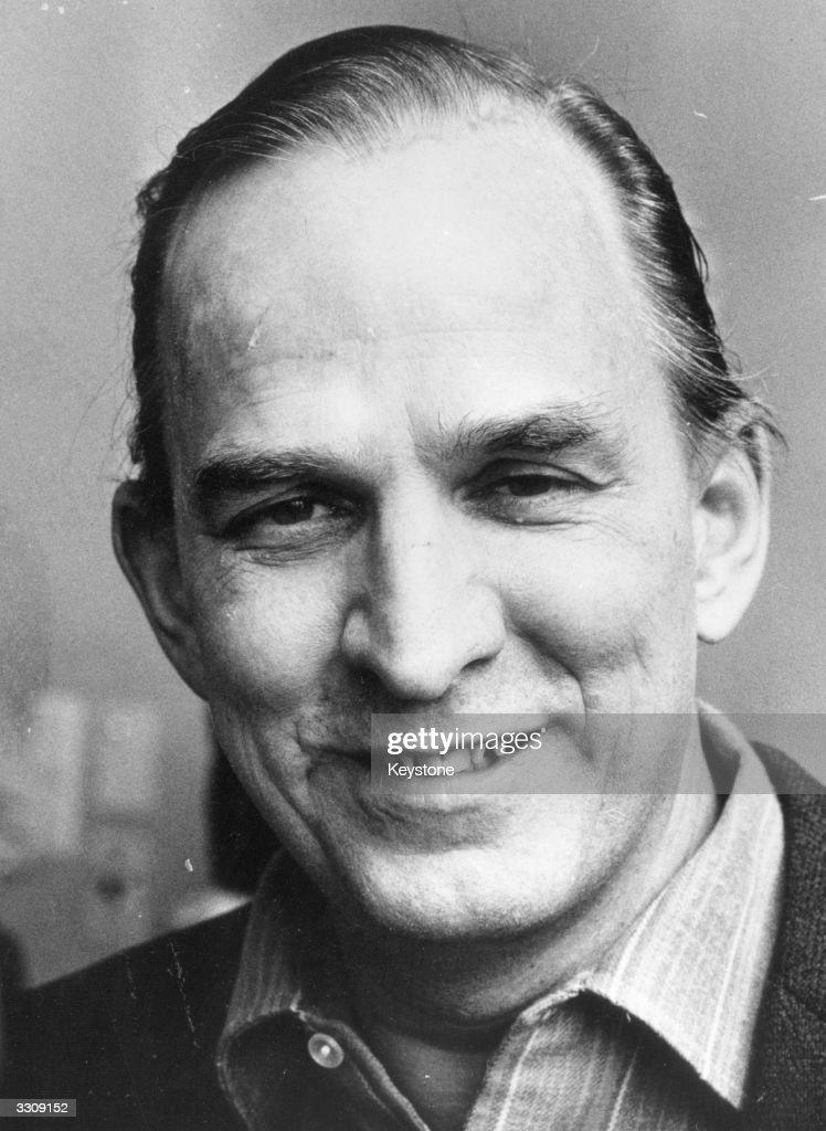 Swedish film director and auteur Ingmar Bergman.
