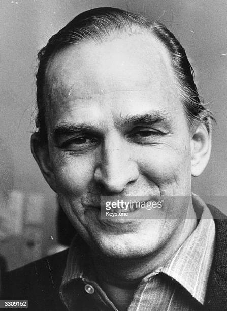 Swedish film director and auteur Ingmar Bergman
