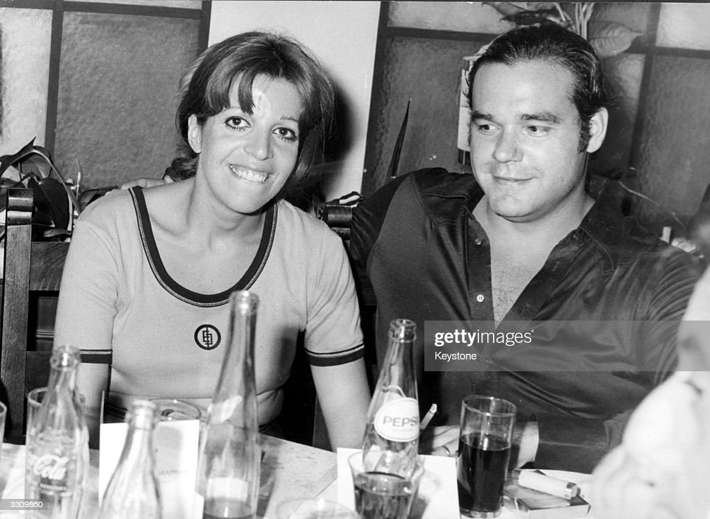 Christina Onassis with her second husband Alexandros Andreadis at the Antion motor rally in Athens, Greece.