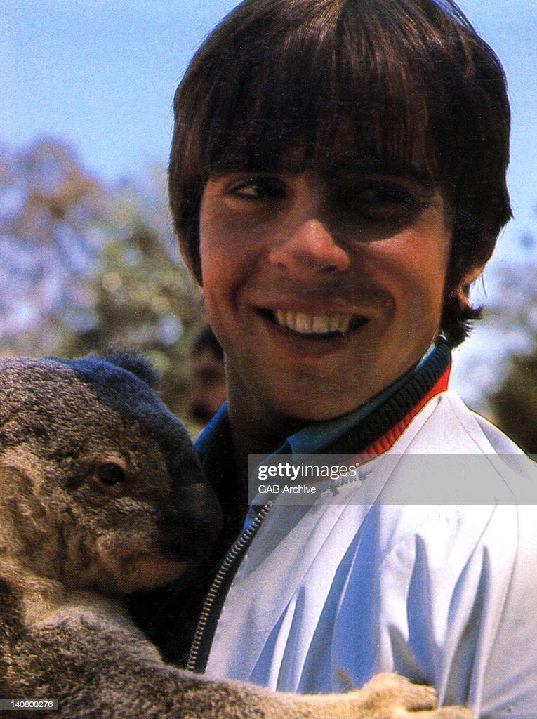 Photo of English actor, singer and jockey <b>Davy Jones</b> (1945-2012) holding - 1st-photo-of-english-actor-singer-and-jockey-davy-jones-holding-a-picture-id140800276