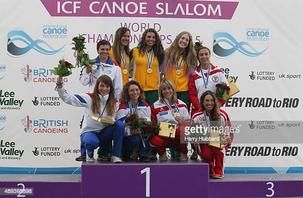 1st Place Australia Jessica Fox Rosalyn Lawrence Alison Borrows 2nd Place Czech Republic Katerina Hoskova Monika Jancova Tereza Fiserova 3rd Place...