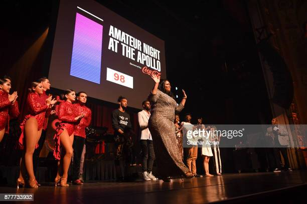 1st Place Winner Michelle BrooksThompson during Amateur Night At The Apollo Super Top Dog at The Apollo Theater on November 22 2017 in New York City...