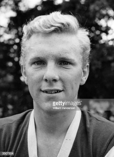 Bobby Moore of West Ham United aged 18
