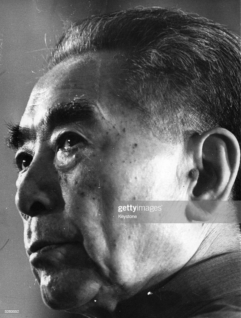 The Chinese politician Chou EnLai or Zhou Enlai who became prime minister in 1949 and held this office until his death