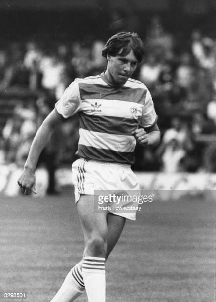 Footballer Tommy Langley of Queens Park Rangers