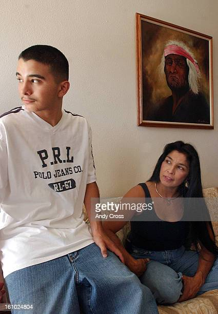 COAUGUST 28TH 2004Franki <cq> Montoya <cq> 16yearsold <cq> a student at West High School <cq> with his mother Patricia <cq> Montoya <cq> at his...