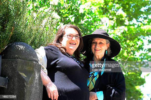MAY17TH 2012pics of Margaret Atwood and her chosen protege for Roles mentorship program Naomi Alderman37 yrs