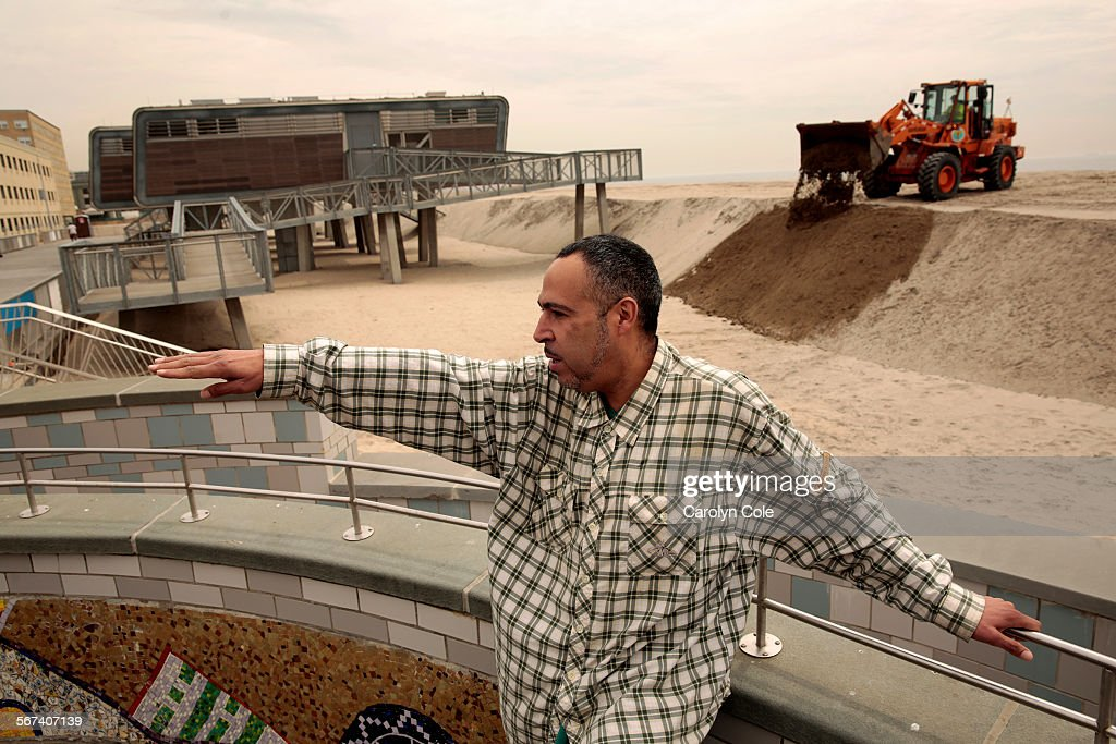 YORKMAY 21 2014Tony Reyes age 44 was displaced by Hurricane Sandy On his days off from work he visits the area where he once went to the beach He...