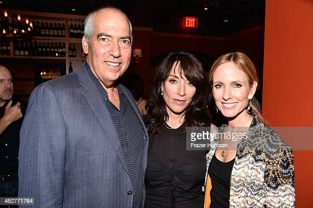 20th Century Fox TV CoChairman Gary Newman actress Katey Sagal and 20th Century Fox TV CoChairman Dana Walden attend Twentieth Century Fox...