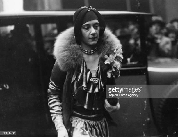 The Duchess of Westminster Loelia third wife of the 2nd Duke of Westminster Hugh Richard Arthur Grosvenor whom he divorced in 1947 Born Loelia...