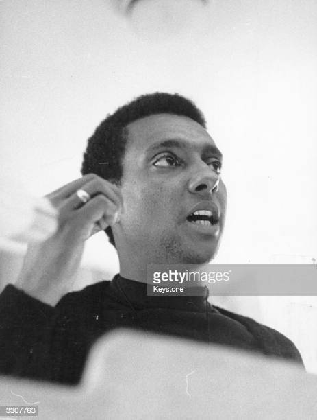 Radical Civil Rights activist Stokely Carmichael born in Trinidad he emigrated to America at the age of 11