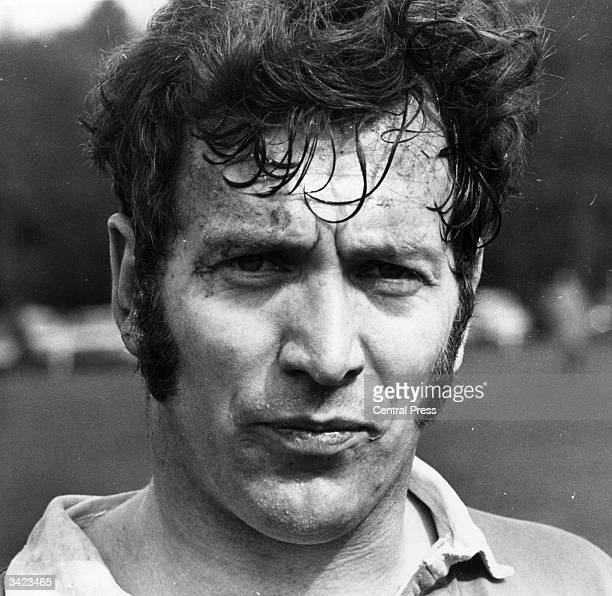 John Dawes London Welsh fullback and captain of the British Lions rugby union team to tour Australia and New Zealand