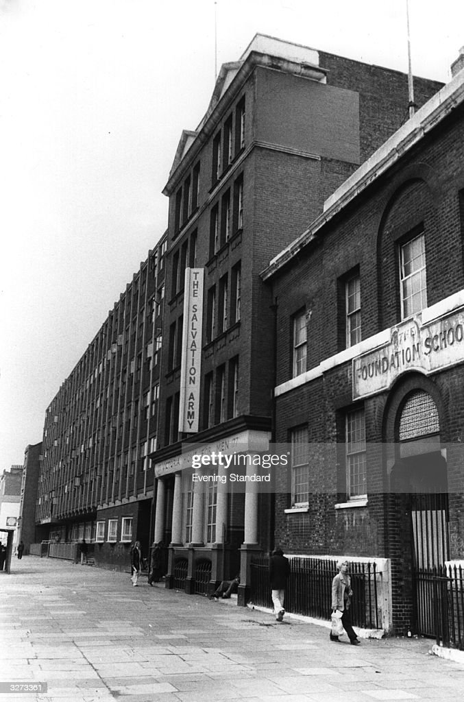 The Salvation Army Hostel in Whitechapel London