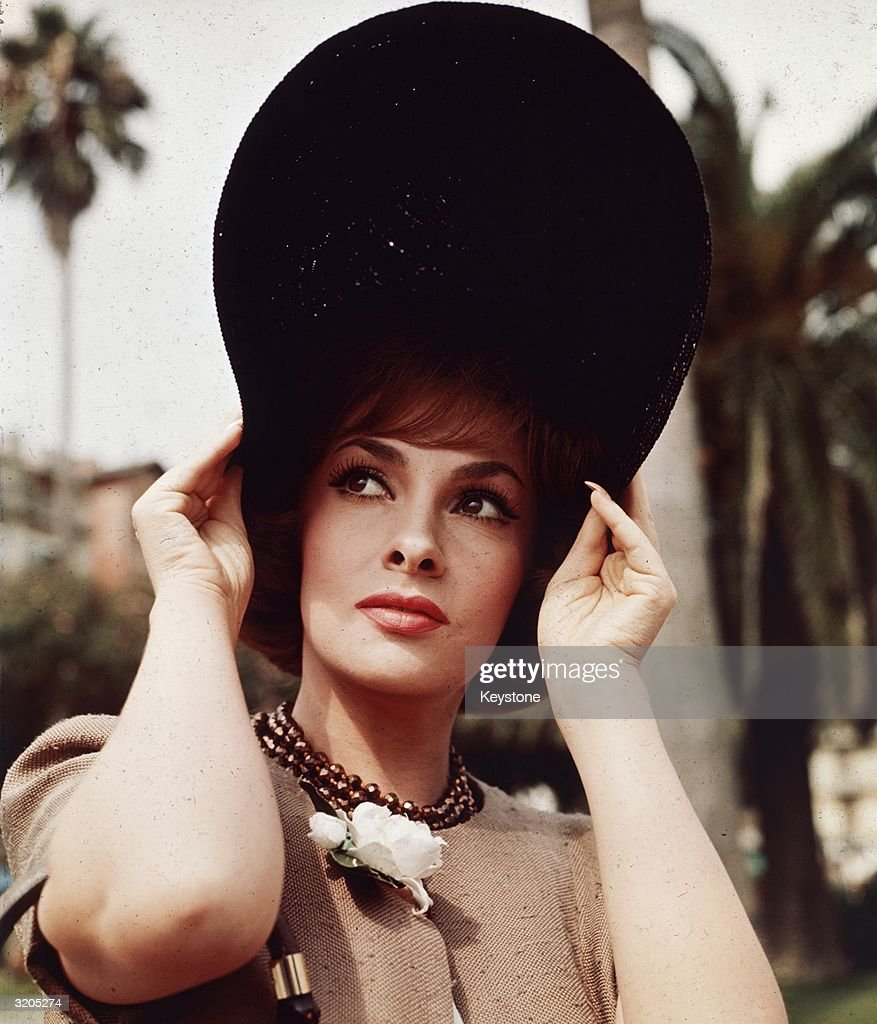 Italian film star Gina Lollobrigida in Genoa who returned to Italy for the filming of the romantic comedy 'Come September'.