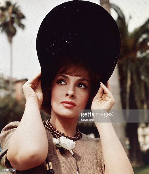 Italian film star Gina Lollobrigida in Genoa who returned to Italy for the filming of the romantic comedy 'Come September'