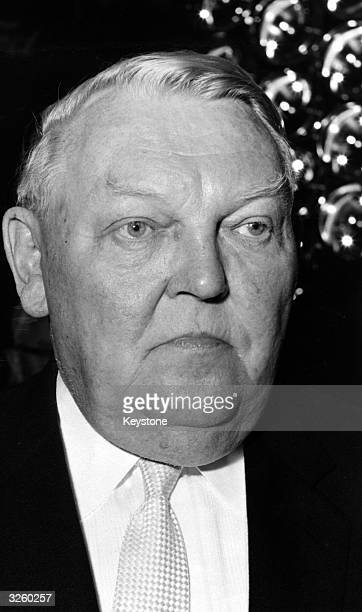 Ludwig Erhard the German economist and politician