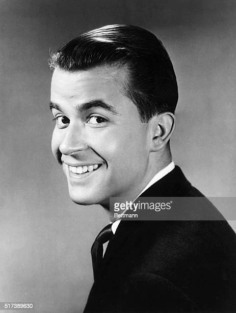 2/12/1959Portrait of Dick Clark host of 'American Banstand' shown Mondays through Fridays from 400530 EST and the 'Dick Clark Show' shown Saturdays...