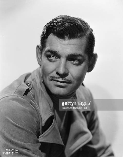 American actor Clark Gable whose most famous role was that of Rhett Butler in 'Gone With The Wind'