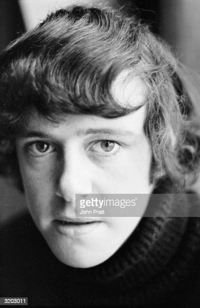18 yearold folk/pop singersongwriter Donovan at home in London at the time his first single 'Catch The Wind' was high in the charts