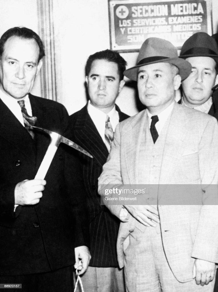 The ice pick used by NKVD agent Ramon Mercader to kill Russian revolutionary Leon Trotsky.