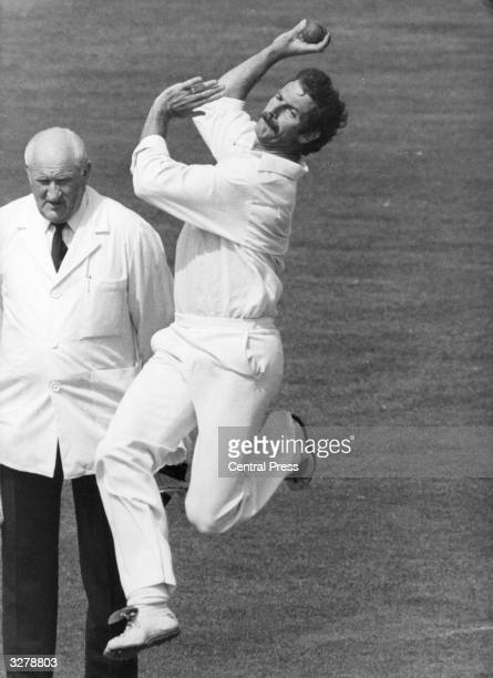 Dennis Keith Lillee Australian cricket player in action one of the greatest fast bowlers in the history of the game