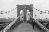 NY: 3rd January 1870 - Construction Of Brooklyn Bridge Begins