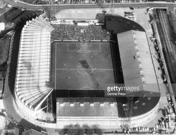 Old Trafford home of Manchester United football team is to provide the venue for Group Three of the 1966 World Cup finals