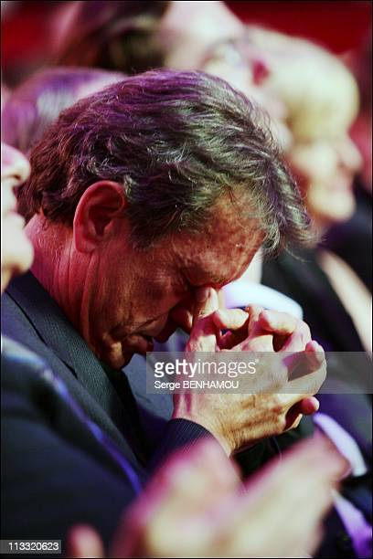 21St Of 'Nuit Des Molieres' In Paris France On May 14 2007 Emotion of Bernard Giraudeau