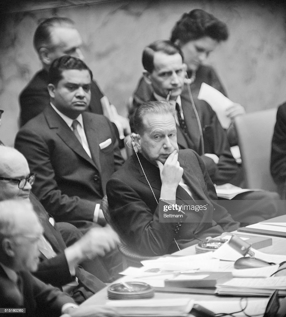 2/20/1961New York NY United Nations Meeting Six followers of slain Patrice Lumumba were executed after their deportation by Congo President Kasavubu...
