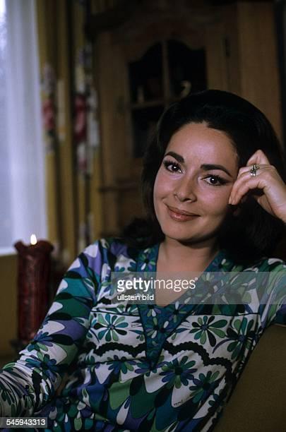 Schauspielerin DPorträt 1969