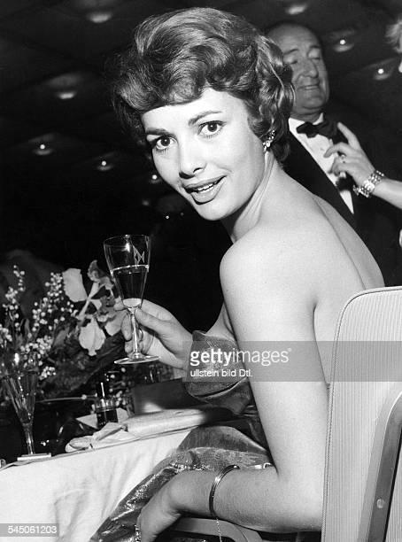 *Schauspielerin DPorträt Filmball 1959