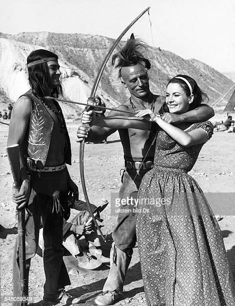 *Schauspielerin DRollenporträt in dem Film 'Der letzte Mohikaner' 1965