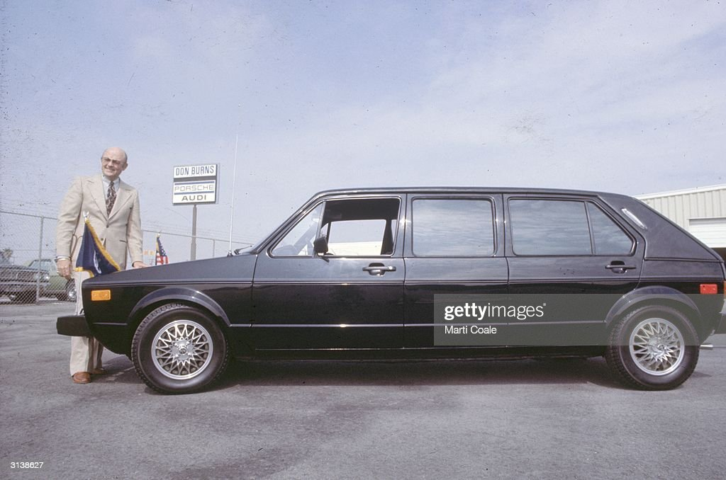 A Volkswagen stretch limousine car.