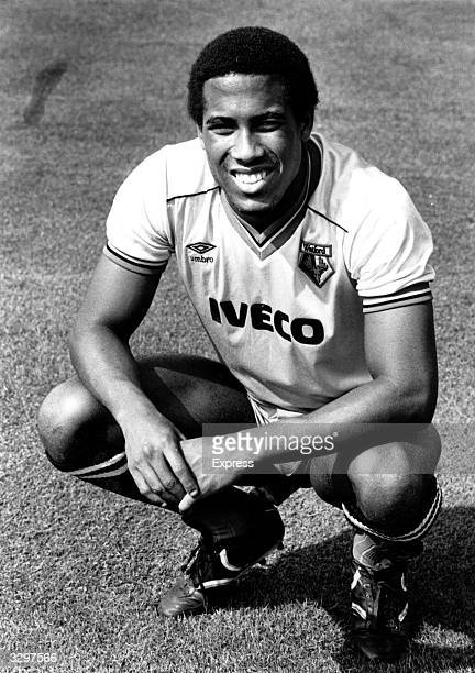 Watford Liverpool and England footballer John Barnes