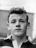Seventeen year old Billy Bremner recently signed to Leeds United Bremner went on to become a key midfielder in Don Revie's team and was voted player...