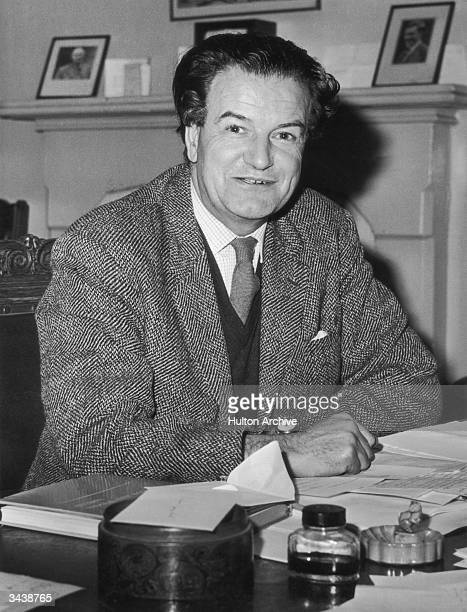 Marxist historian Christopher Hill the new Master of Balliol College Oxford who will assume his post in September 1965