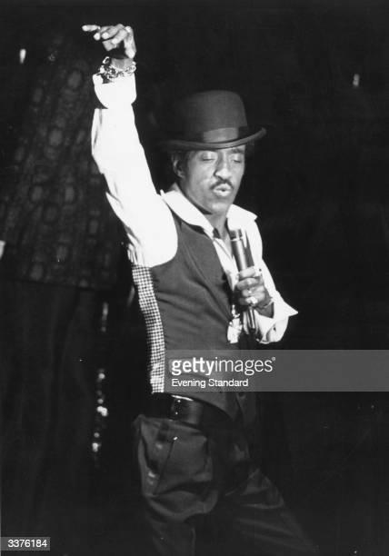 Sammy Davis Jnr entertainer and actor at Grosvenor House