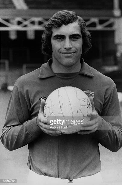 Leicester City and England goalkeeper Peter Shilton